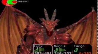 Chrono Cross - Fire Dragon