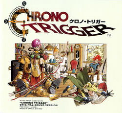 Chrono Trigger Original Sound Version cover
