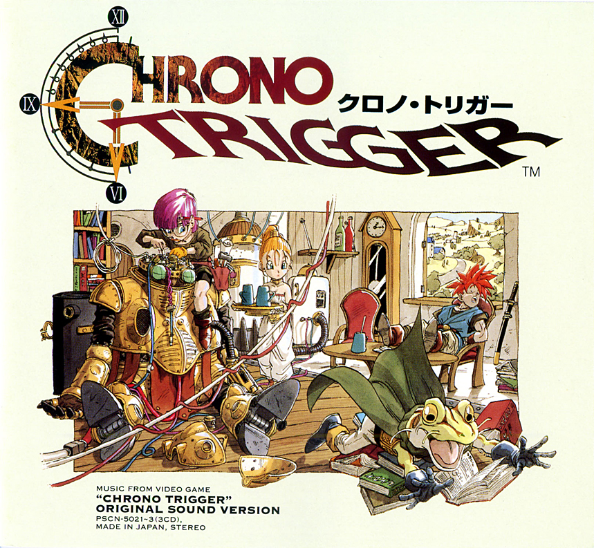 videojuegos Chrono trigger