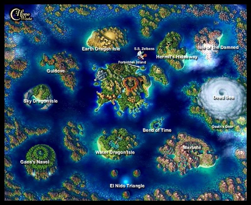 Image chrono cross world map chrono wiki fandom powered by wikia chrono cross world map gumiabroncs Image collections