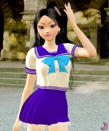 Mizu s sailor outfit by aisiko-d86kfu7