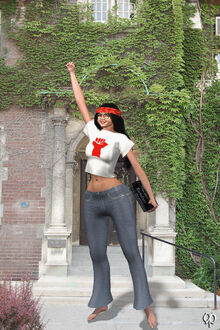 Radical Chick Giovanna by Chronophontes