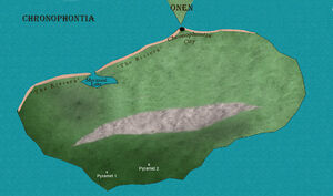 Map of chronophontia version 1 by chronophontes-d86n5hc
