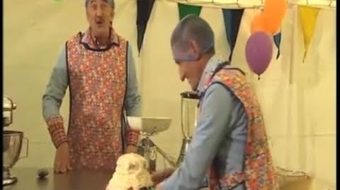 ChuckleVision 17x14 Let Them Beat Cake