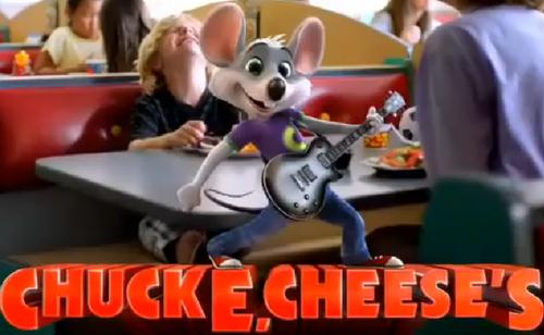 Chuck E Cheese 2012