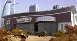 Weap-Con building