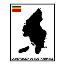 Costa Gravas Chuck Map