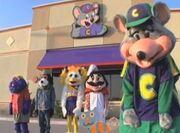 Chuck e cheese gang