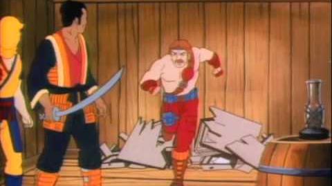 Chuck Norris Karate Kommandos Cartoon Intro