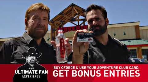 Maverik The Chuck Norris Ultimate Fan Experience from CForce & the Adventure Club