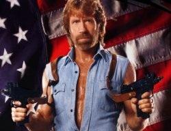 Norris flag chuck