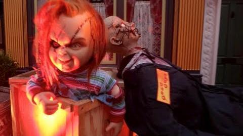 Curse of Chucky Scare Zone (HD POV) - Halloween Horror Nights 2013 at Universal Studios, CA