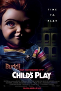 Child's Play Finnish poster.