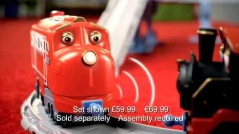 Chuggington UK Interactive Steam Around Old Town Set with Old Puffer Pete