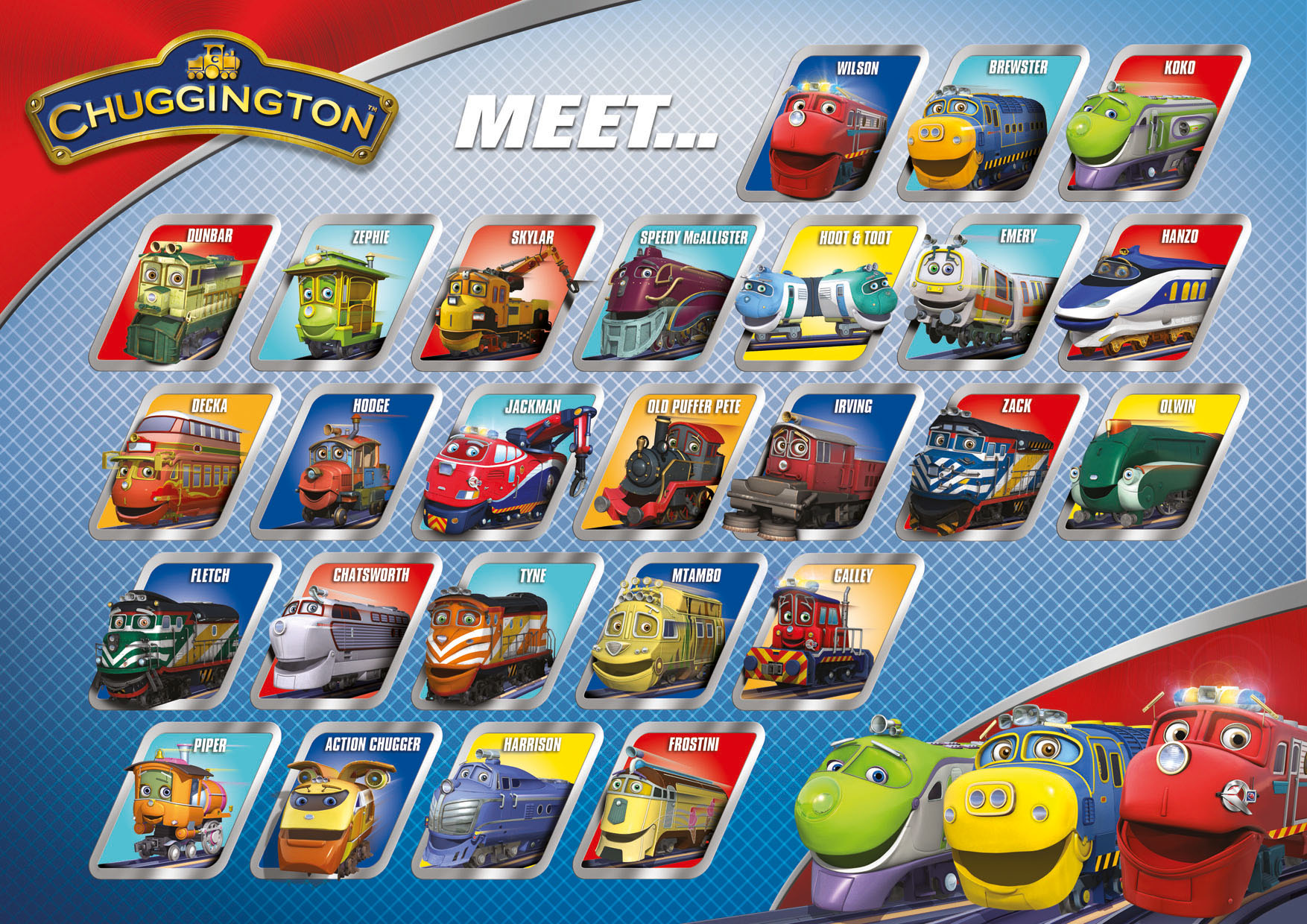Contemporary Chuggington Coloring Pages Brewster Festooning ...