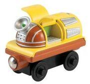 Woodenmobilecar