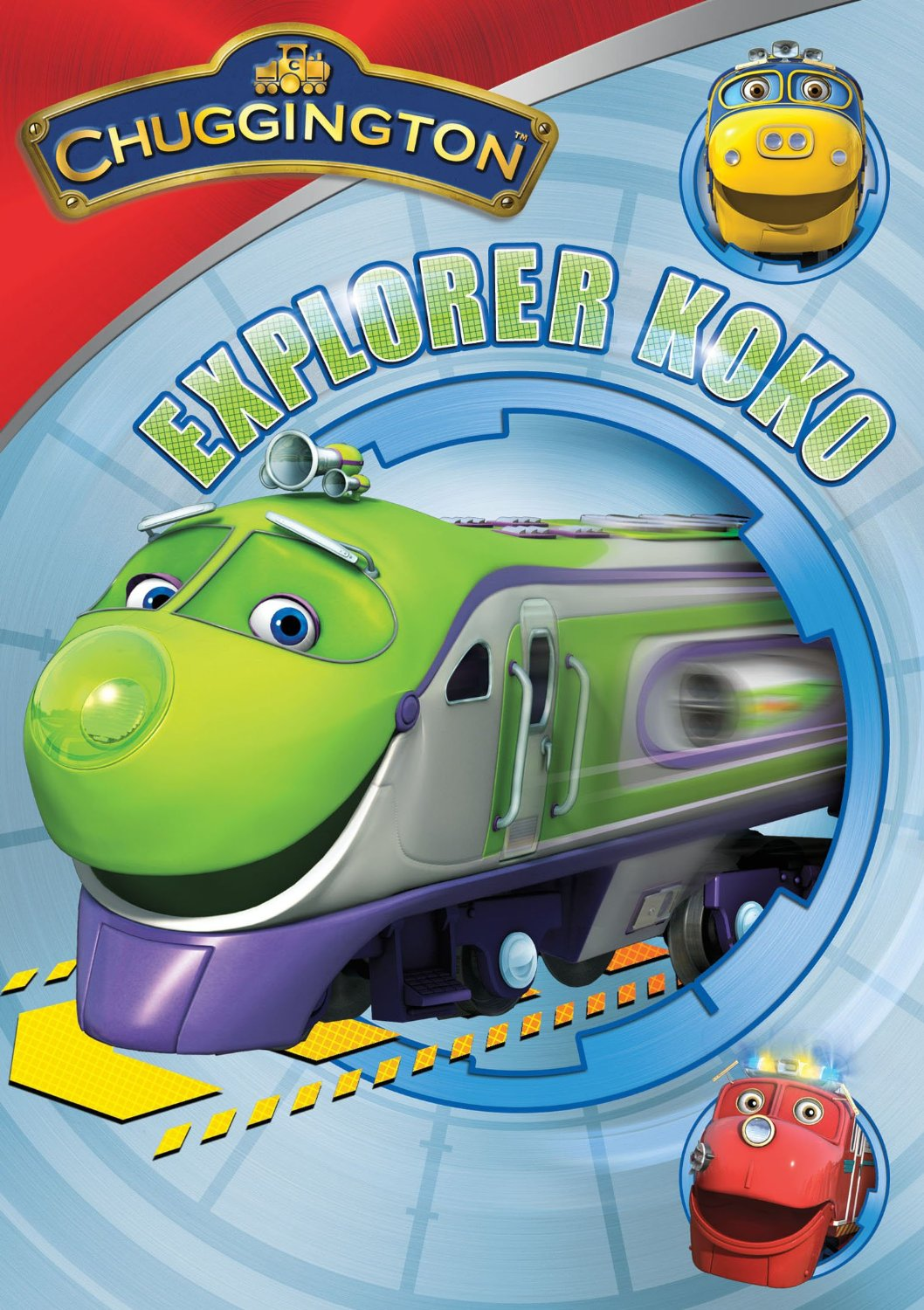 Image - ExplorerKokoDVD.jpg | Chuggington Wiki | FANDOM powered by Wikia