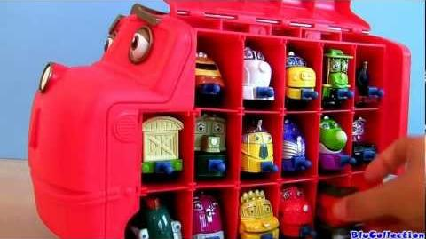 Big Wilson Carry Case from Chuggington Fits 17 diecast trains Disney Learning Curve