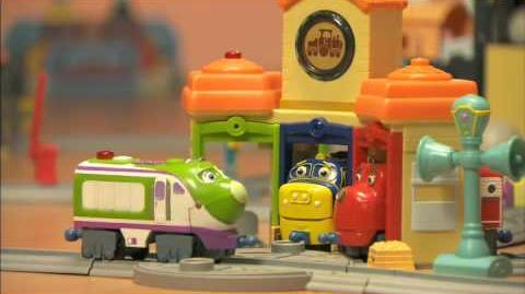 All Around the World of Chuggingtion Interactive Toys