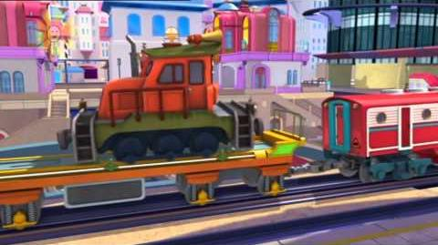 Chuggington S3 E10 Top Secret Koko