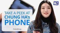 What's On CHUNG HA's Phone?ㅣDatadrop