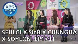 Seulgi X SinB X Chungha X Soyeon Entertainment Weekly 2018.10.01