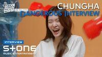 ENG SUB Stone INTERVIEW 청하 (CHUNG HA) Dangerous INTERVIEW|솔직히 지친다, newwav