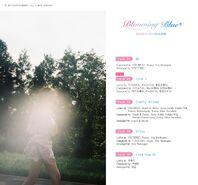 Chungha Blooming Blue Tracklist
