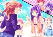 Class Trip - Kazari Kannagi (Class Idol) and Shinka Nibutani (Class King)