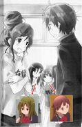 Chuunibyou Demo Koi ga Shitai! LightNovel Nibutani, Miyoshi, and Sasa