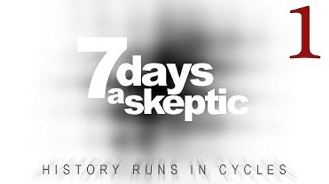 7 Days a Skeptic 1 - Alone on a crowded ship.
