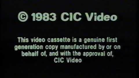 Original VHS Opening Woody Woodpecker and His Friends Vol. II (UK Pre cert Tape)
