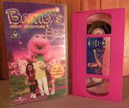 Barneys Great Adventure UK VHS