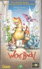 We Re Back A Dinosaur Story 1993