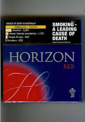 Horizon cigarettes