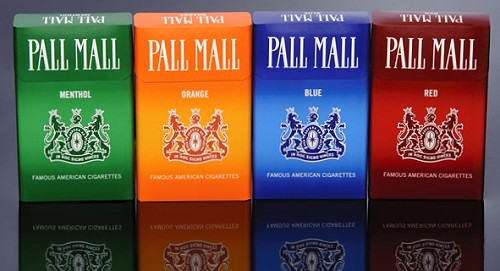 Pall mall cigarettes types canada top ten cigarette brands in the uk