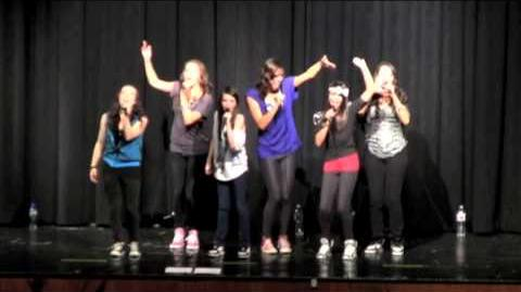 """Dynamite"", by Taio Cruz - Cover by Cimorelli LIVE in Texas!-0"