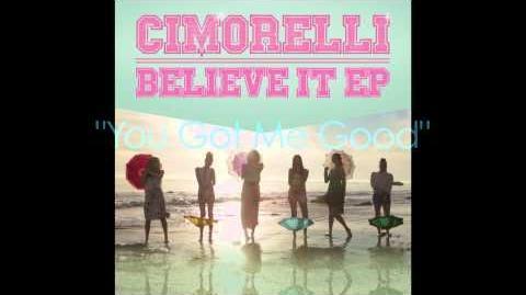 """CIMORELLI """"Believe It EP"""" Sampler"""