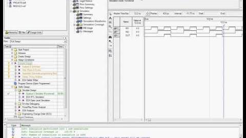 Quartus II - Tutorial 4 - Simulação com Waveform