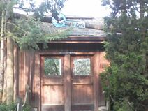 Eagle eyrie entrance