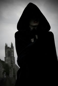 Builders - hooded figure