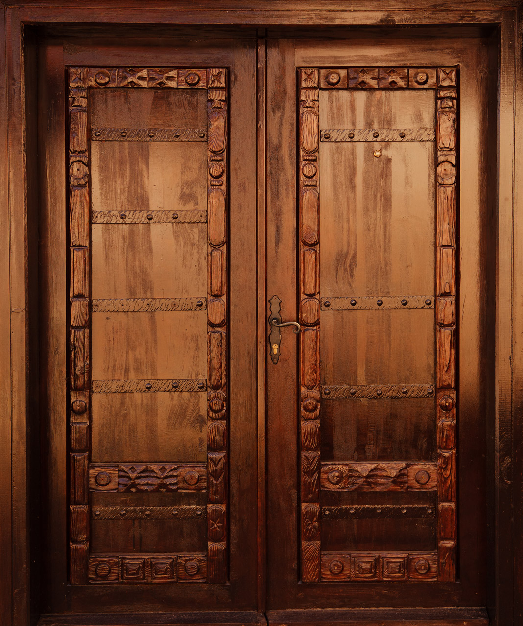 gardens door granada palace wooden old spain in alhambra photo stock the of