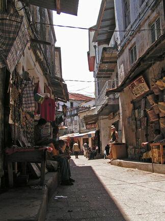Africa zanzibar stone town street market