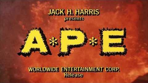 APE 3-D - A*P*E (1976) ORIGINAL TRAILER -HD 1080p-