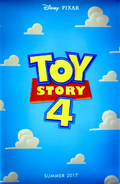 Toy Story 4 - Primer poster promocional