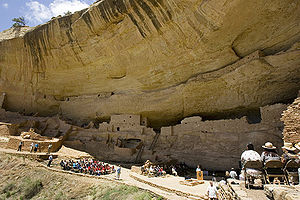 Long House cliff dwellings at Mesa Verde, 2006May23