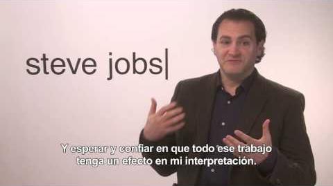 STEVE JOBS - Entrevista a Michael Stuhlbarg