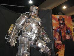 Iron Man ComicCon silver armor