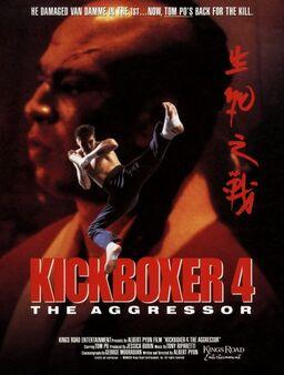 Kickboxer 4 El Agresor POSTER