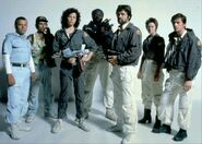 Alien (1979) - main cast